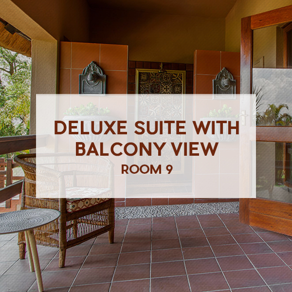 Deluxe suite with balcony view