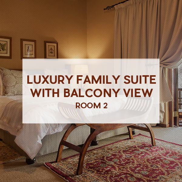 Luxury Family Suite with Balcony View